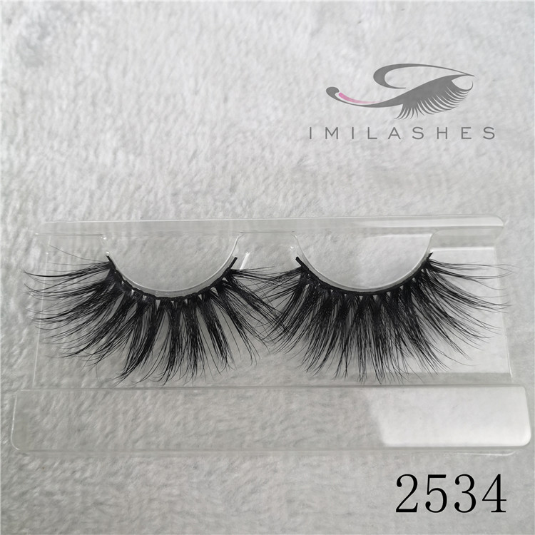 Wholesale 25mm mink 3d lash extensions eyelashes A-34