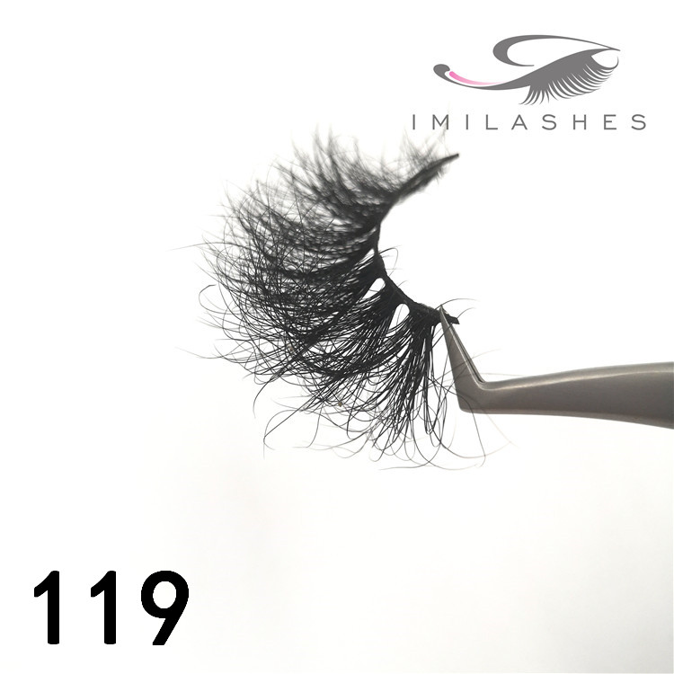 25mm long 3d mink lashes factory - A