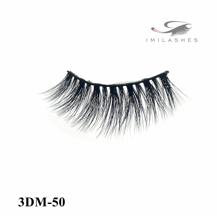 New handmade real fur 3D mink eyelashes-L