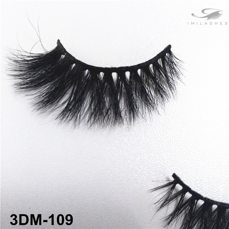 Daily use 3D mink lashes wholesale-V