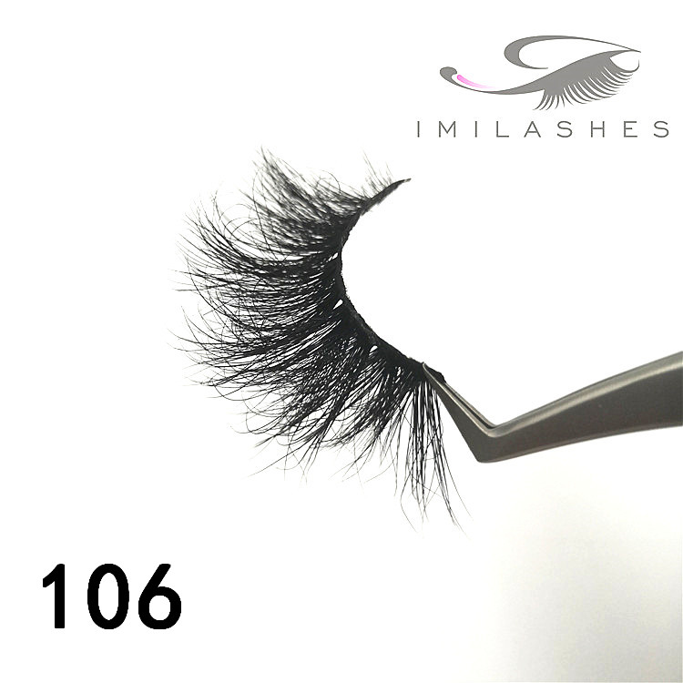 Wholesale 5d mink 25mm lashes private lable vendors - A