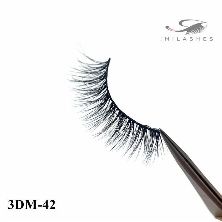 Natural 3d mink fake eyelashes suppliers - A