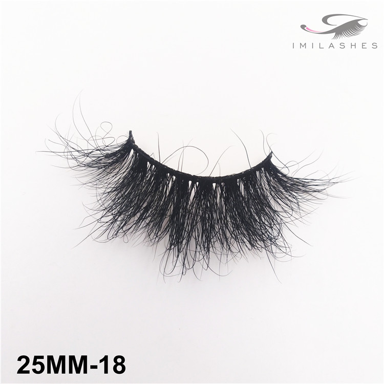 Real Siberian mink luxury lashes wholesale-V