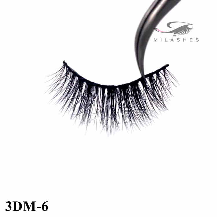 Good natural looking fake 3d real mink strip lashes - A