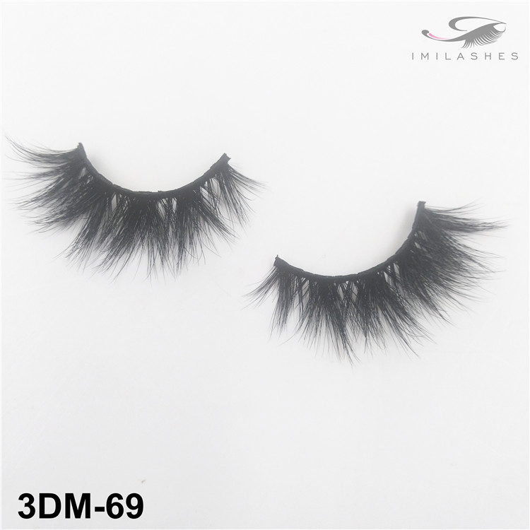 Multi layered fluffy volume faux mink lashes wholesale-V