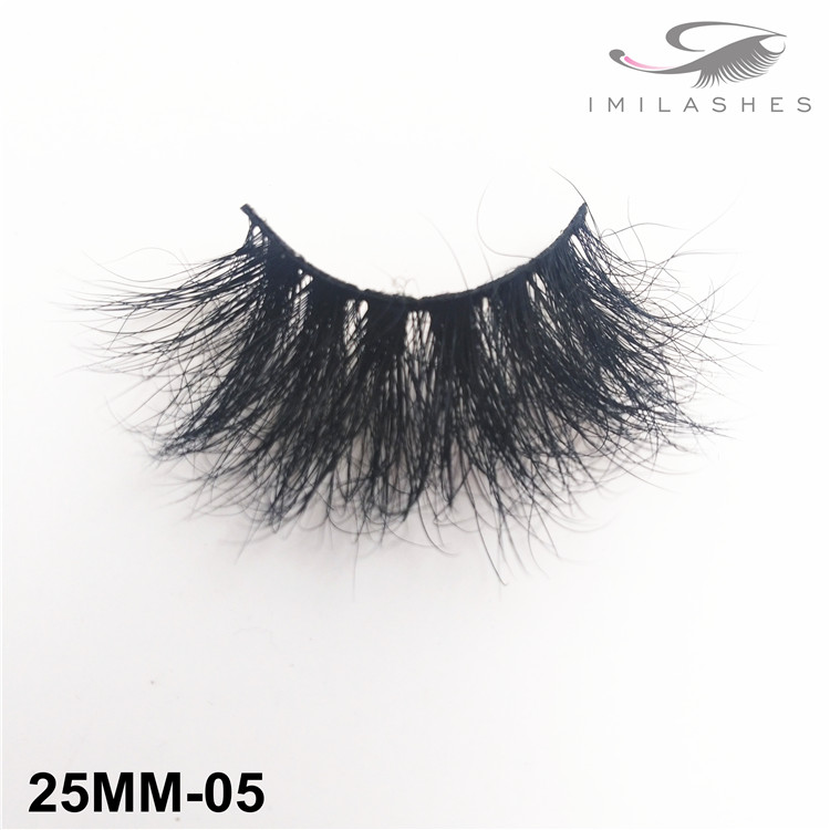 Voluminous look long false lashes bulk wholesale-V