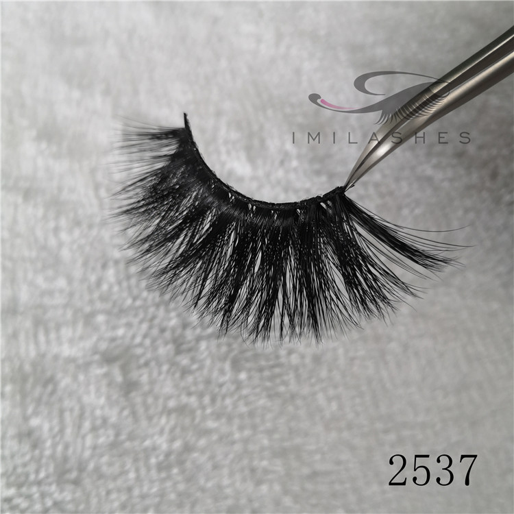 Real 3d 25mm mink fluffy long eyelashes extension A-37