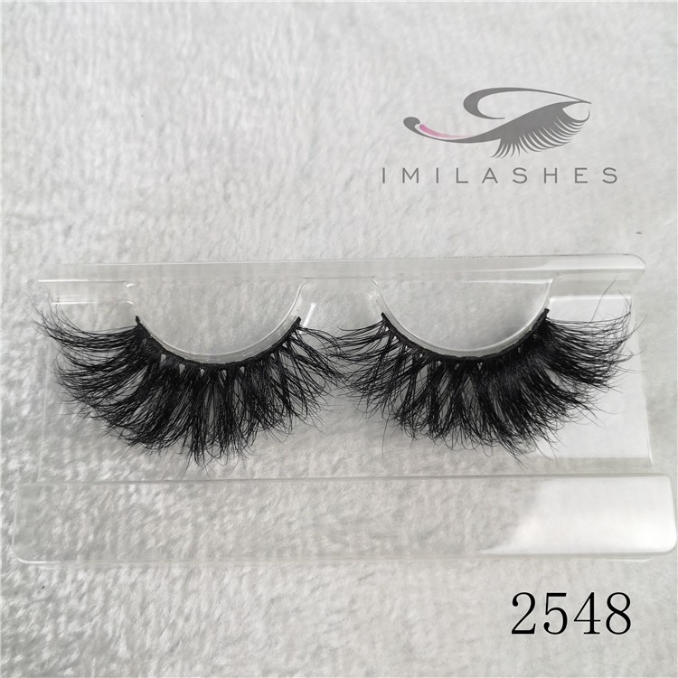 Wholesale real mink eyelash extensions long natural eyelashes manufacturers A-48