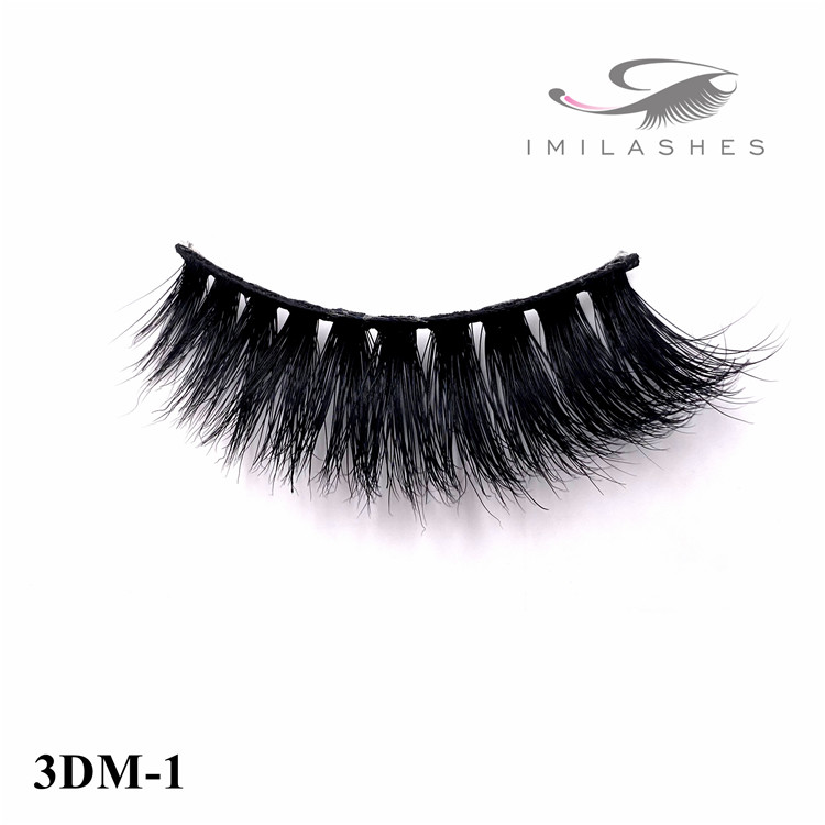 3d real mink lashes manufacturer china - A
