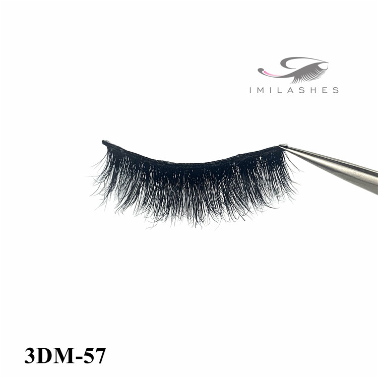 China professional real fluffy 3d mink eyelashes-L
