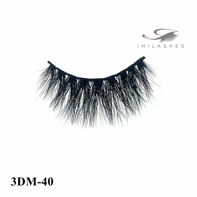 Hypo-allergenic and cruelty-free mink false eyelashes wholesale-V