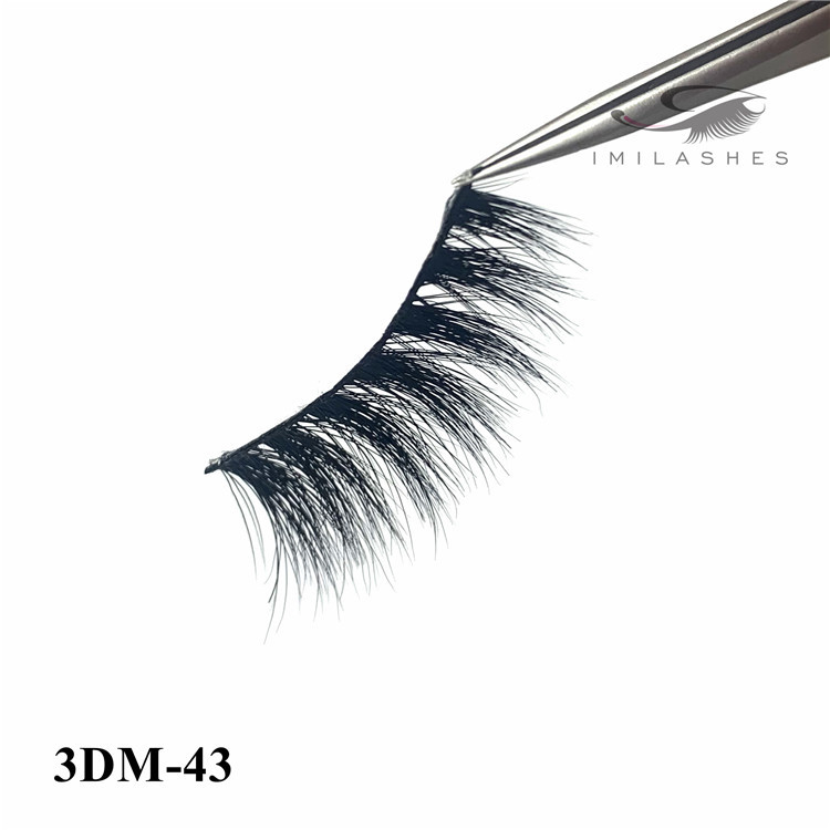 3D mink eyelash application and russian lashes buy-D