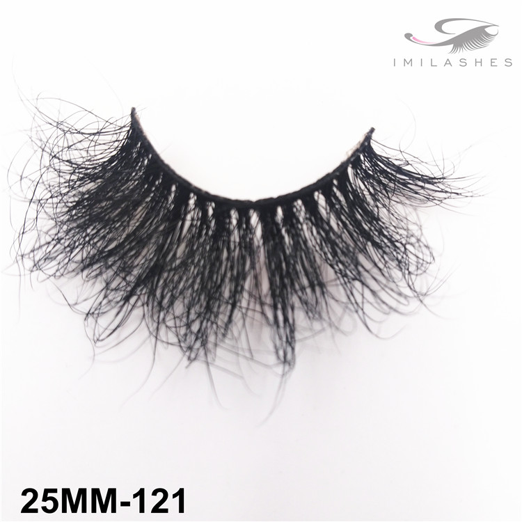 25mm Dramatic high volume false eyelashes wholesale-V