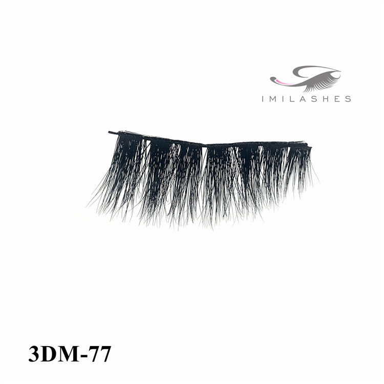 Full strip private label mink eyelashes vendor-L