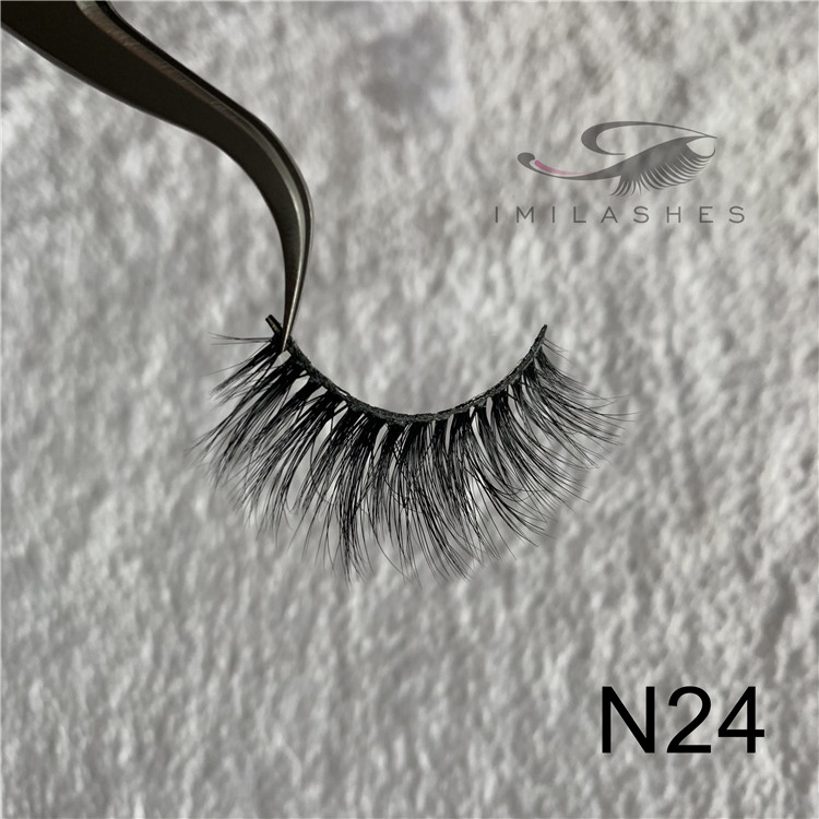 China mink lash extensions factory wholesale real velour mink fur lashes