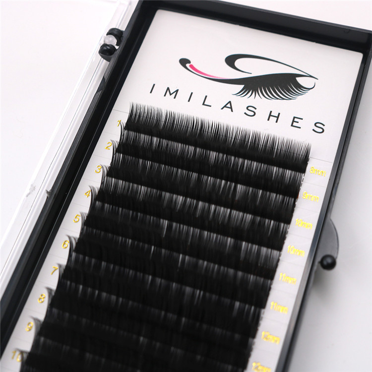 High quality lash extensions volume lashes wholesale-V