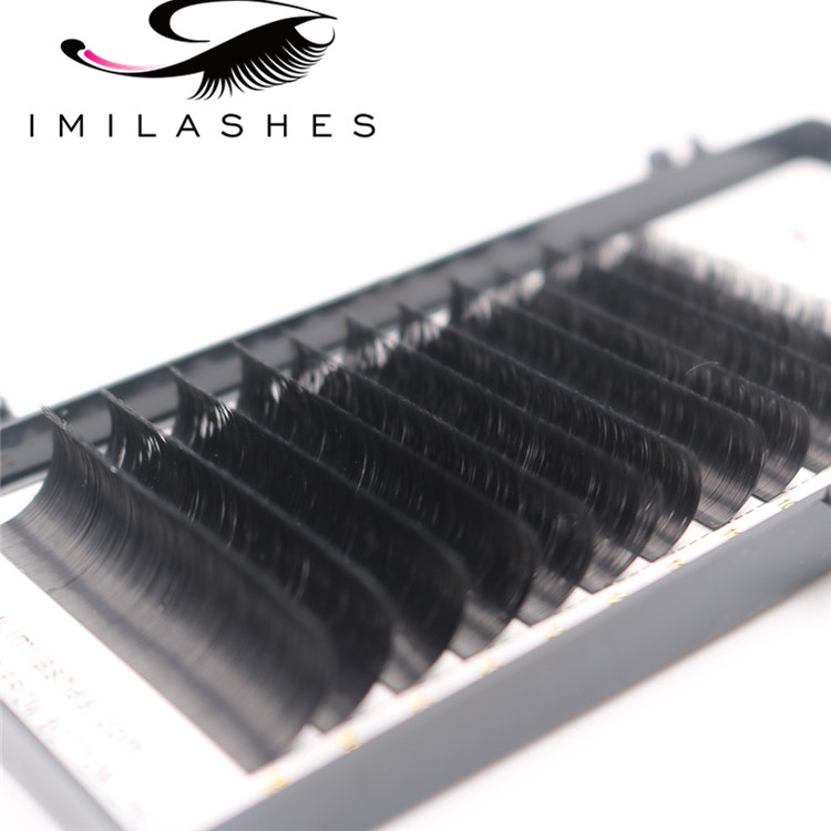 Wholesale high quality 0.07 C curl easy fan bloom lashes for lash artists-V