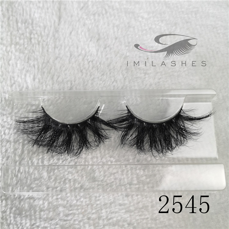 Wholesale 5d 25mm most natural looking false eyelashes A-45