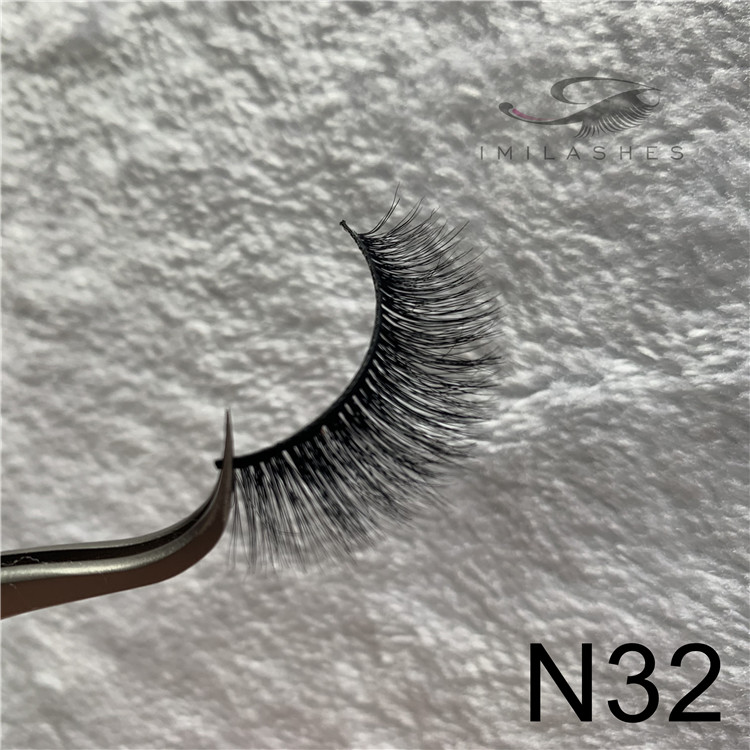 3D mink lashes factory wholesale mink fluffy eyelashes