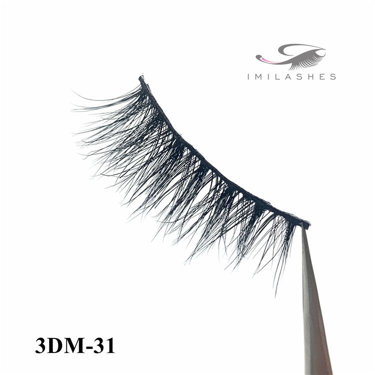 wholesale wispy mink hair 3d lashes suppliers - A