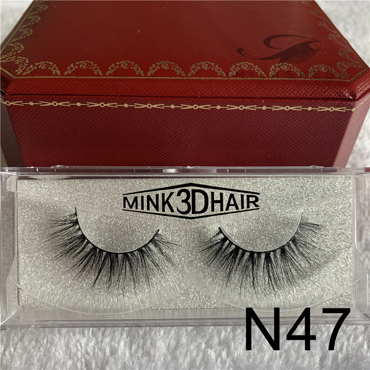 3D faux mink eyelash extensions factory wholesale mink fur eyelashes