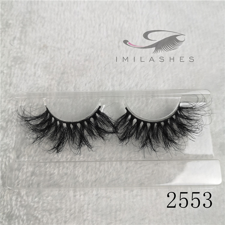 5d mink lash vendors wholesale 25mm 3d mink lashes eyelash extensions manufacturer A-53