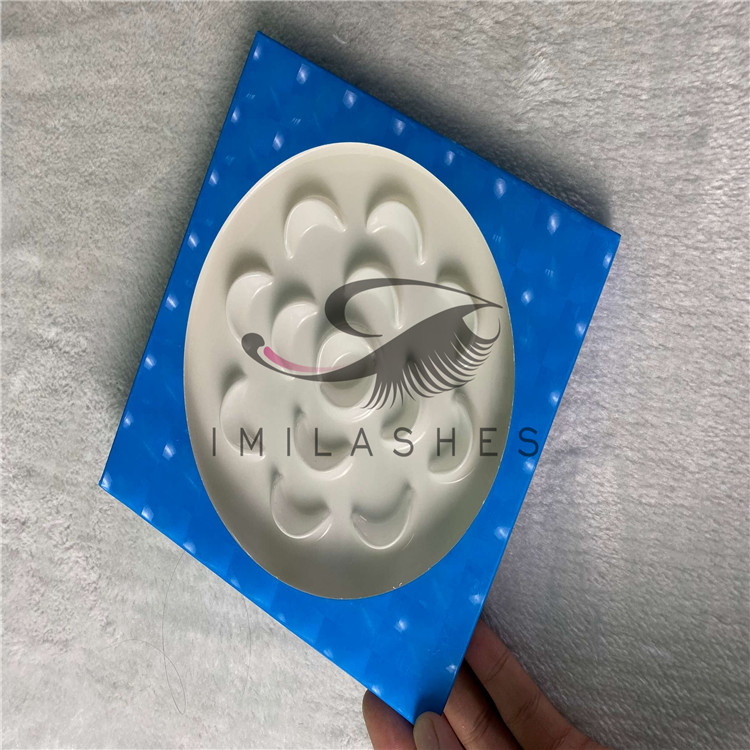 Cheap custom private label eyelash packaging boxes wholesale