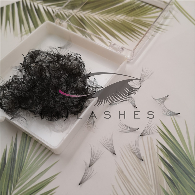Eyelash extensions products supplier wholesale  loose premade volume fans lashes