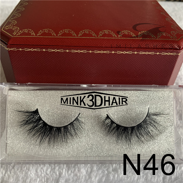 False eyelashes manufacturer wholesale natural 3d mink eyelashes