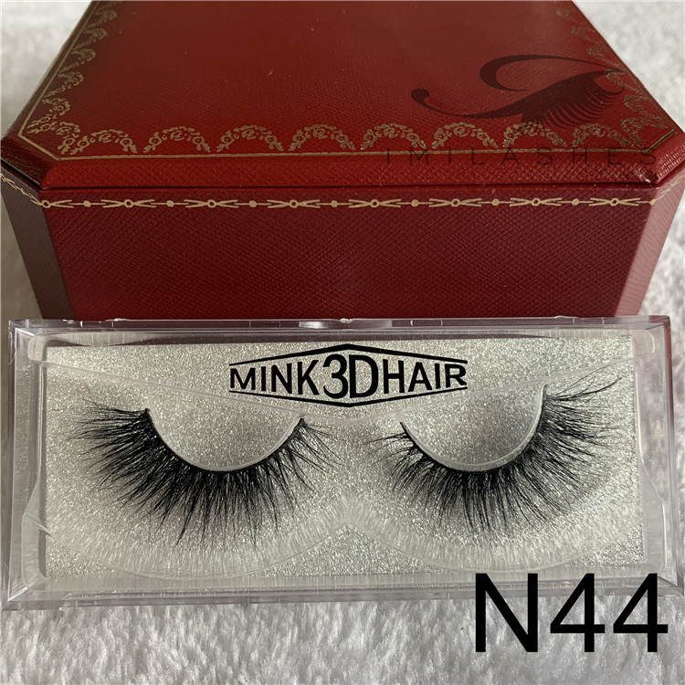 Mink eyelashes manufacturer china wholesale 3D mink eyelash extensions