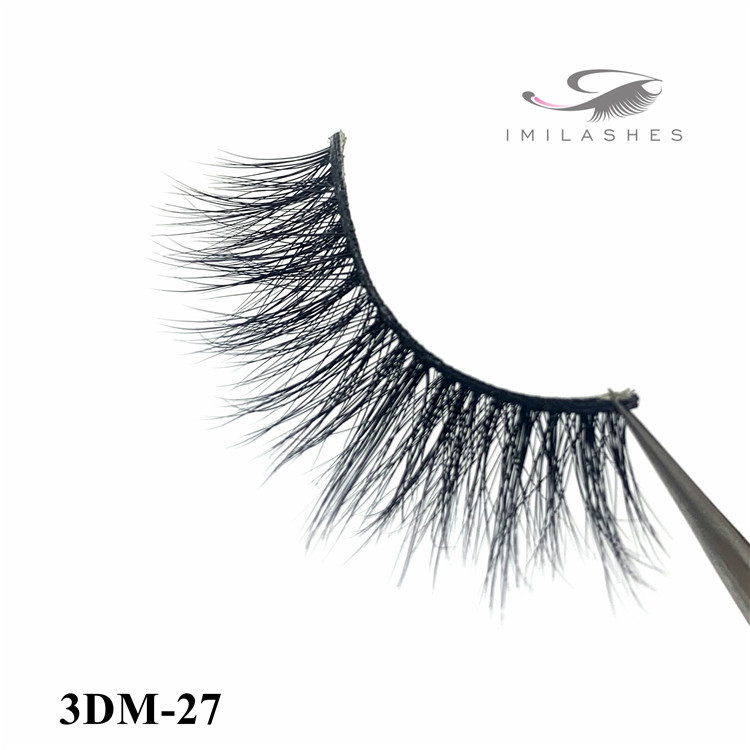Siberian real mink natural eyelashes factory - A