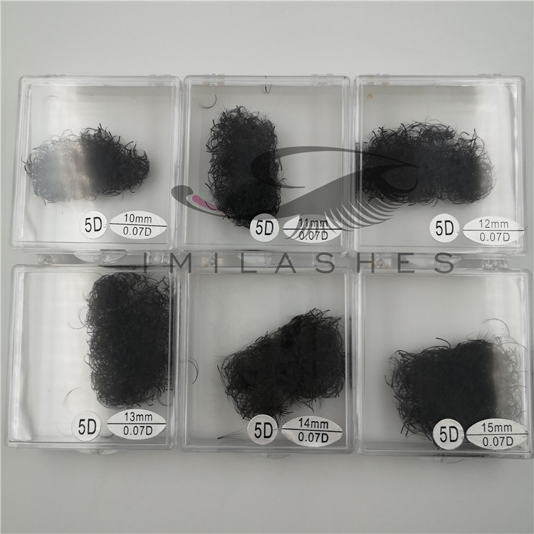 Wholesale premade fans volume loose lashes