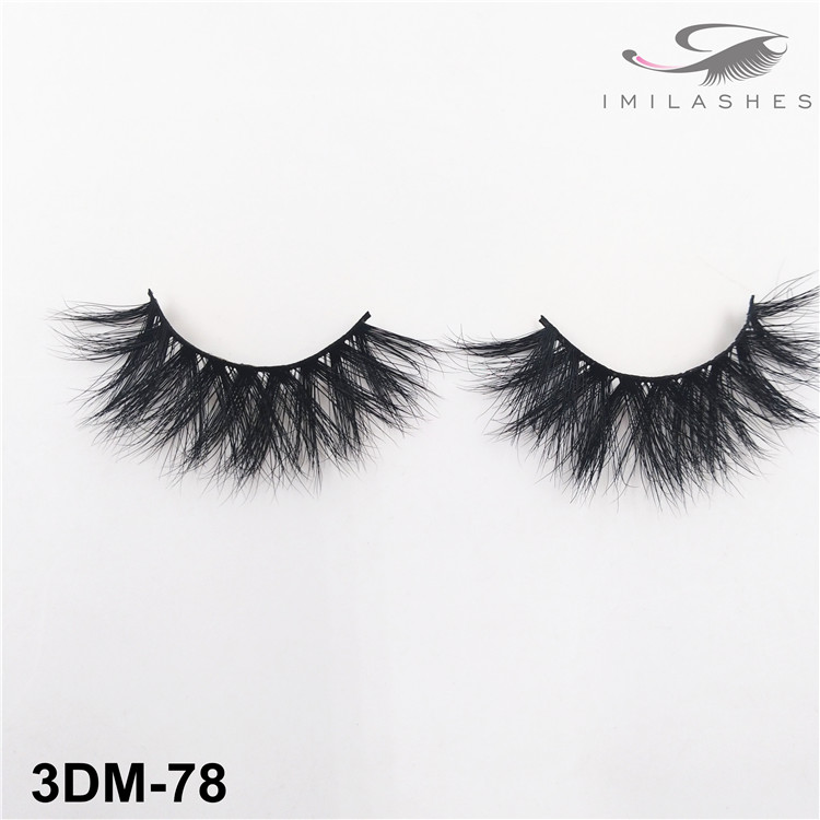 Durable reusable natural look false lashes wholesale-V