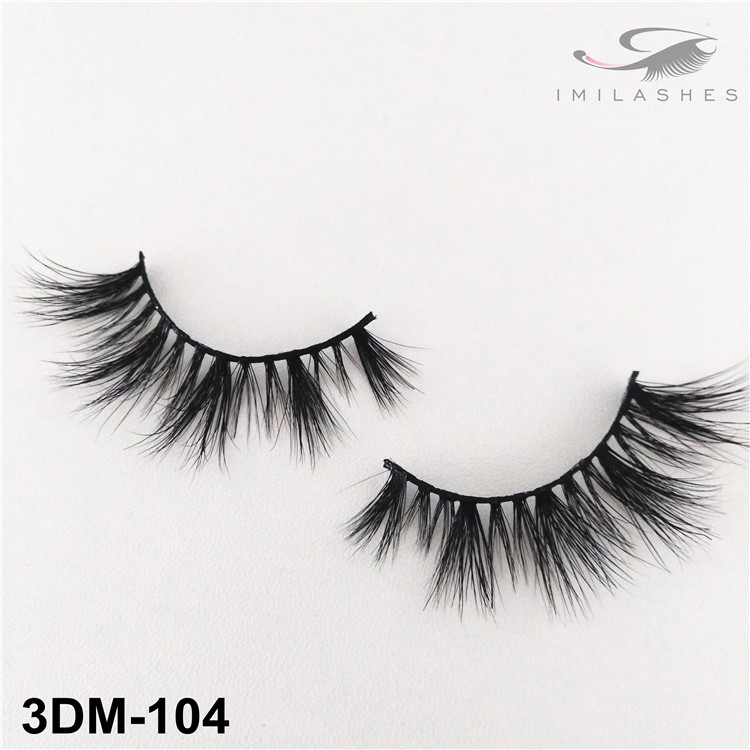 3D short soft mink lashes supply-V
