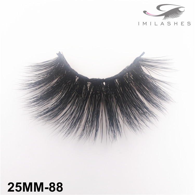 Dramatic look high volume mink lashes wholesale-V