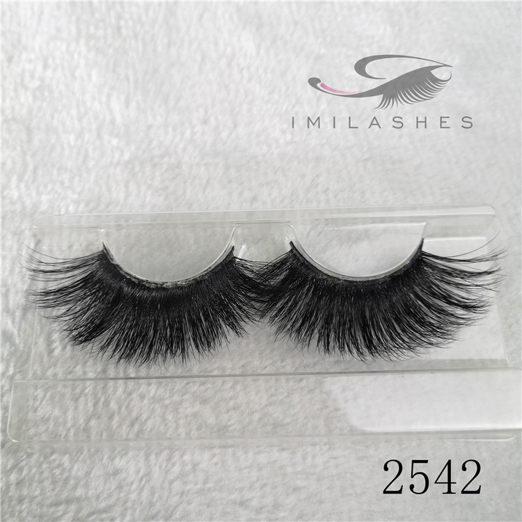 25mm 3d mink lashes long false eyelashes in bulk A-42