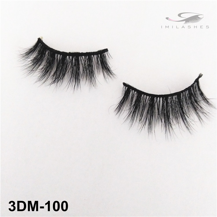 Reusable cruelty free mink lashes wholesale-V