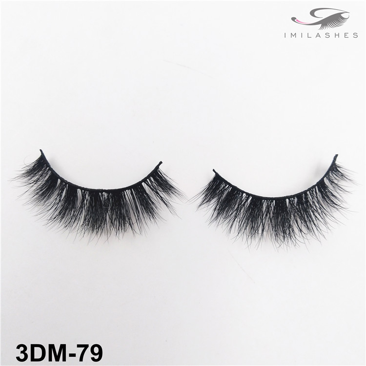 Gift for women soft comfortable mink lashes wholesale-V