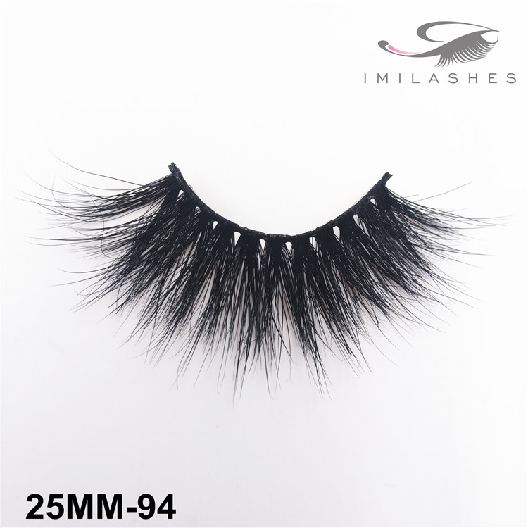 Reusable fluffy mink false lashes bulk wholesale-V