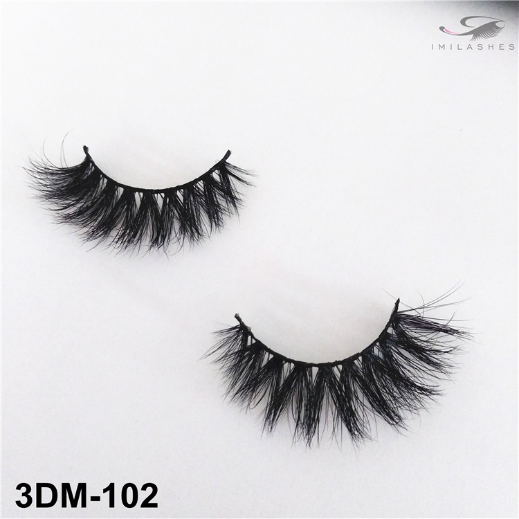 Handmade soft volume 3D mink eyelashes wholesale-V