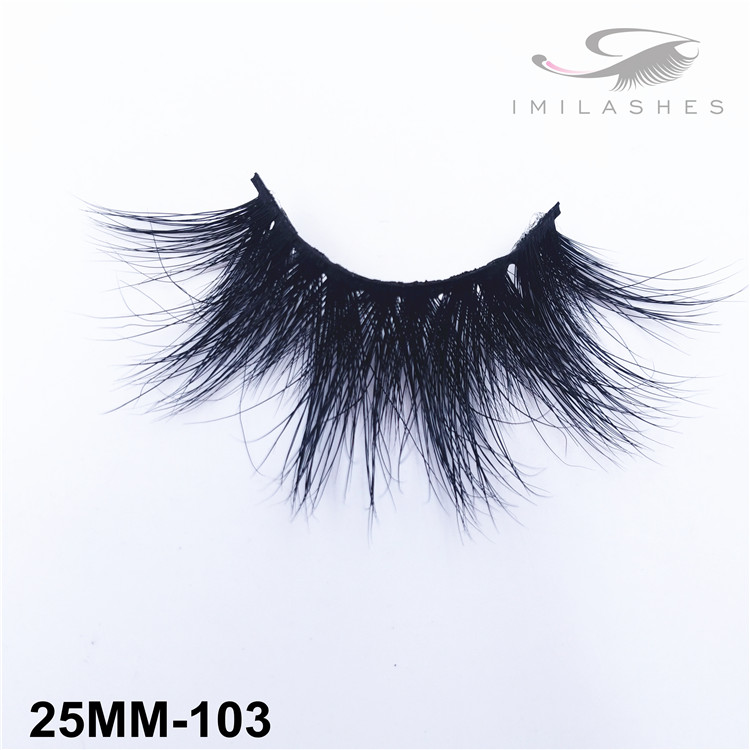 Luxury handmade wispy Siberian mink false eyelashes wholesale-V