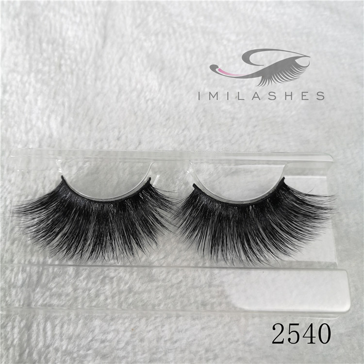 Long eyelashes meaning 25mm 3d false eyelash styles A-40