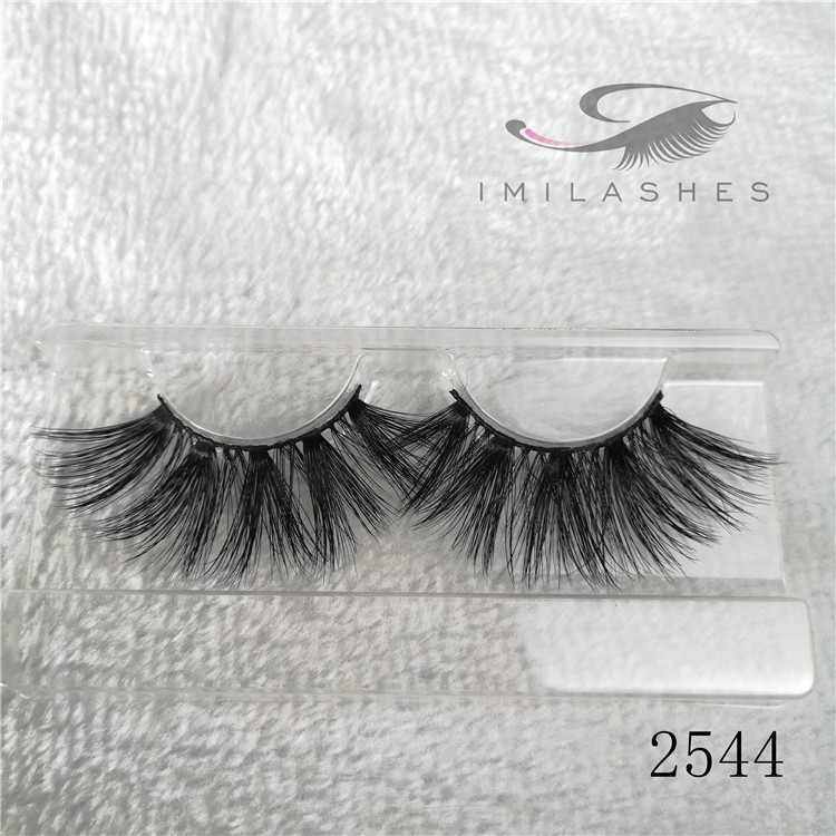 Long full false eyelashes real mink lashes in bulk A-44
