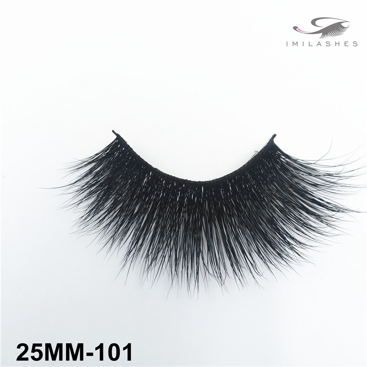 Thick dramatic 25mm mink lashes supply-V