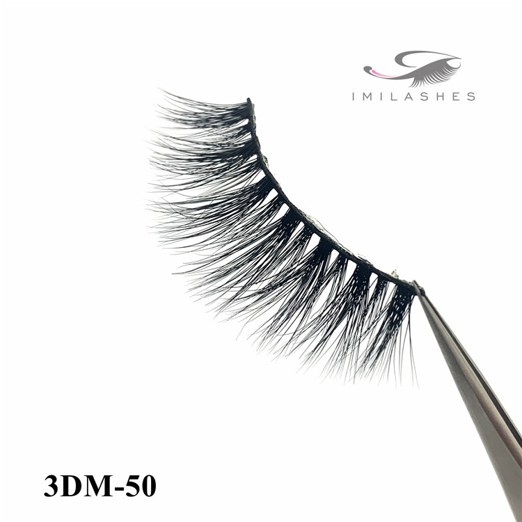 Hand made soft 3d mink eyelashes factory china - A
