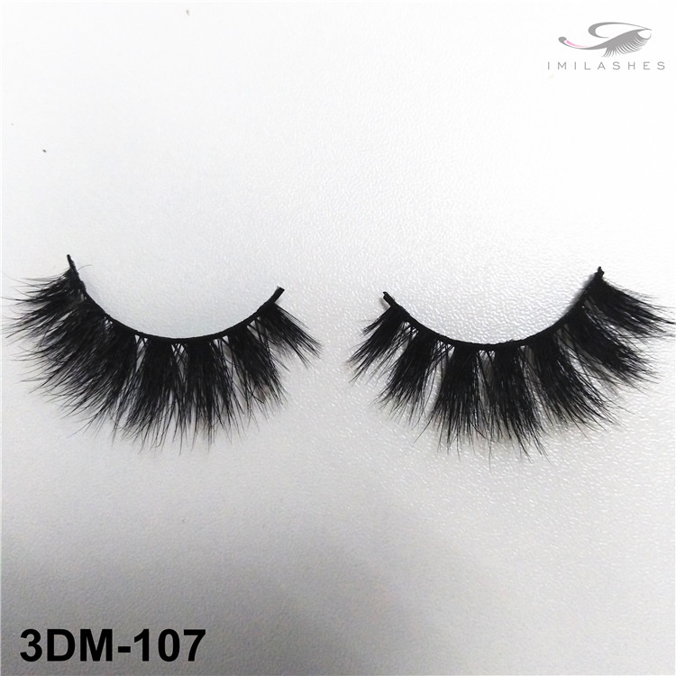 Wispy 3D mink eyelashes wholesale-V