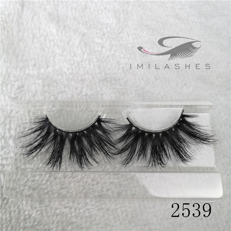 25mm permanen longer eyelashes naturally fake mink eyelashes A-39
