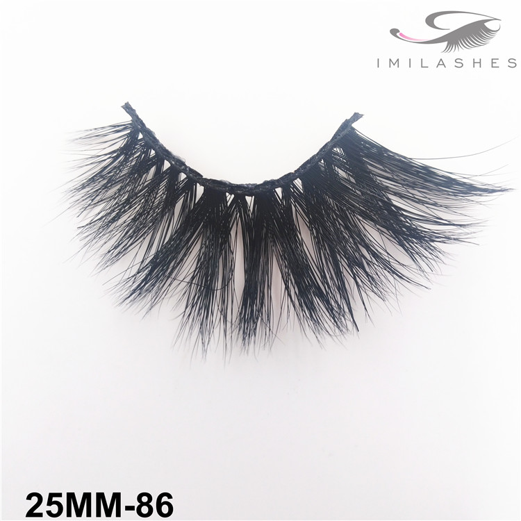 Handmade reusable soft lightweight makeup lashes wholesale-V