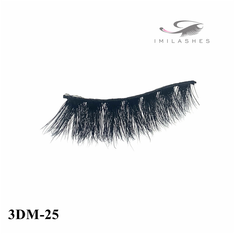 Handcrafted with care soft and lightweight mink eyelashes supply-V