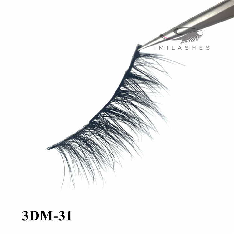 Natural real mink eyelashes for sale factory - A
